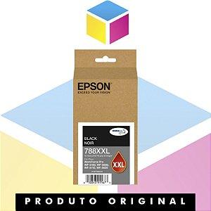 Cartucho de Tinta Original Epson T788XXL 120-AL Preto | WorkForce 5190 WorkForce 5690 | 65ml