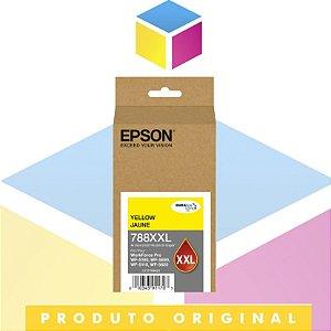 Cartucho de Tinta Original Epson T788XXL 420-AL Amarelo | Workforce 5190 Workforce 5690 | 34ml