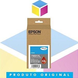 Cartucho de Tinta Original Epson T788XXL 220-AL Ciano | WorkForce 5190 WorkForce 5690 | 34ml