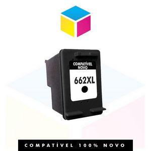 CARTUCHO DE TINTA COMPATÍVEL HP 662 XL CZ 105 AB PRETO 11 ml| 1015 1510 1518 2516 2546 2646 3516 |hp 662 100% Novo