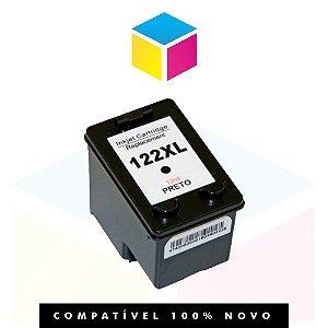 Cartucho de Tinta HP 122 XL 122 Preto Compatível | A CH 563 HB CH563HB | 13ml