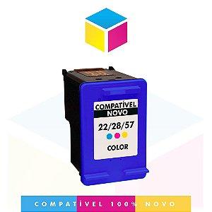 Cartucho de Tinta Compatível HP 57 Colorido C 6657 AB C 6657 AL C 6657 A C 6657 CB | 12ml
