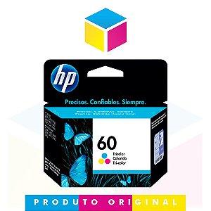 Cartucho de Tinta HP 60 CC643WB Colorido | D1660 F4280 F4480 | Original 6,5ml