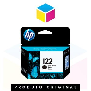 Cartucho de Tinta original HP 122 CH561HB Preto | 2ml
