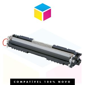 Toner Compatível HP CE 310 A/126 310 A 126 A H-800 Preto | CP 1025 M 175 M 176 N M 177 FW M 275 | 1.2k