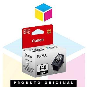 Cartucho de Tinta Canon original PG 140 Preto | 8ml