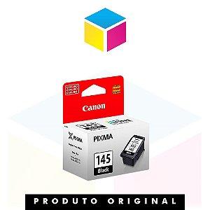 Cartucho de Tinta Canon original PG 145 preto| 8 ml