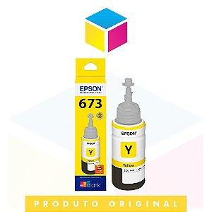 Tinta Epson original 673 T 673 T 673420 Yellow | L 800 L 810 L 805 L 1800 | 70ml