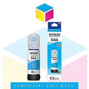 Tinta Epson 544 T544 T544220 Ciano |L1110 | |L3150| L3110 | L5190| Original 65ml