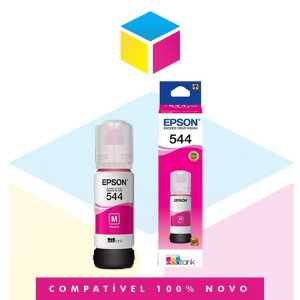 Tinta Epson 544 T544 T544320 Magenta |L1110 | |L3150| L3110 | L5190| Original 65ml