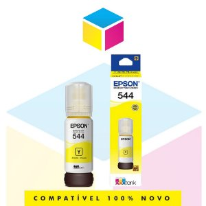 Tinta Epson 544 T 544 T 544420 Yellow |L 1110 |L 3150| L 3110 | L 5190| Original 65ml