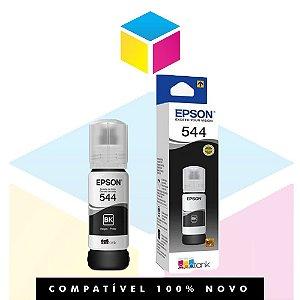 Tinta Epson 544 T544 T544120 Preto |L1110 |L3150| L3110 | L5190| Original 65ml