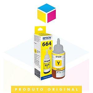 Tinta Epson 664 original T 664420 AL T 664420 T 664 Yellow | L 200 L 375 L 220 L 110 L 355 L 555 L 455 L 365 | 70ml