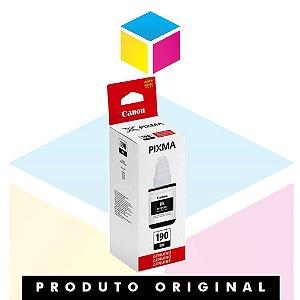 Tinta Canon GI-190 BK Preto | Tanque de Tinta Pixma Maxx G 1100 G 2100 G 3100 G 3102 | Original 135ml
