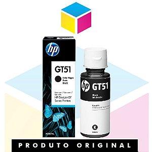 Tinta HP original GT51 GT 51BK M0H57AL Preto | GT 5822 GT5822 GT-5822 |90ml