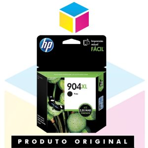 Cartucho de Tinta HP 904 XL T6M16AB Preto | Officejet Pro 6970 | Original 21,5ml