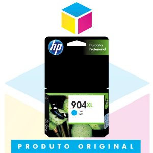 Cartucho de Tinta HP 904 XL T6M04AB Ciano | Officejet Pro 6970 | Original 9,5ml