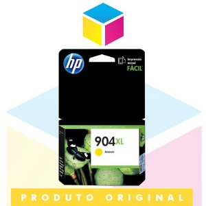 Cartucho de Tinta HP 904 XL T6M12AB Amarelo Yellow | Officejet Pro 6970 | Original 9,5ml