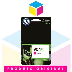 Cartucho de Tinta HP 904 XL T6M08AB Magenta | Officejet Pro 6970 | Original 9,5ml