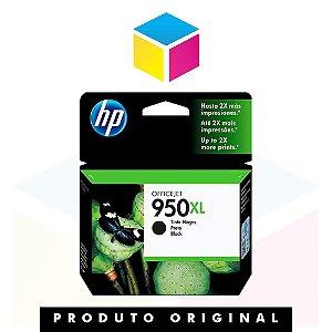 Cartucho de Tinta HP 950 XL 950 Preto   CN 045 AL 8610 8620 8100 8600 Plus 8630   Original 53ml