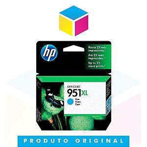 Cartucho de Tinta HP 951 XL 951 Ciano CN 046 AL | 8610 8620 8100 8600 Plus 8630 | Original 17ml