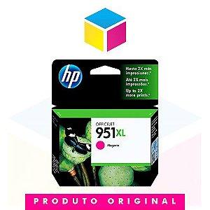 Cartucho de Tinta HP 951 XL 951 Magenta CN 047 AL | 8610 8620 8100 8600 Plus 8630 | Original 17ml