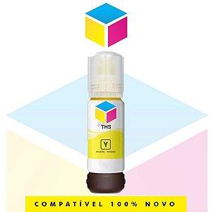 Tinta Compatível Epson 504 T 504 Amarelo Yellow | T 504420 AL | T 504420 | T 504 | L 4150 | L 4160 | L 6191 | L 6161 | L 6171 | 70ml