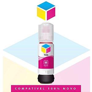Tinta Compatível Epson 504 T 504 Magenta | T 504320 AL | T 504320 | L 4150 | L 4160 | L 6191 | L 6161 | L 6171 | 70 ml
