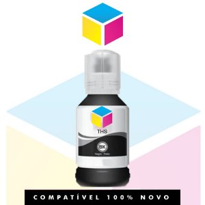 Tinta Compatível Epson 504 T504 Preto | T 504120 AL| T 504120 | L 4150 | L 4160 | L 6191 | L 6161| L 6171 | 127ml