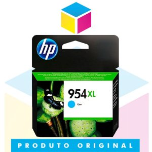 Cartucho de Tinta HP 954 XL 954 L0S 62 AB Ciano | 8700 8710 8715 8720 8716 8725 8210 8740 | Original 20ml