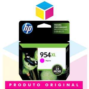 Cartucho de Tinta HP 954 XL 954 L0S 65 AB Magenta | 8700 8710 8715 8720 8716 8725 8210 8740 | Original 20ml