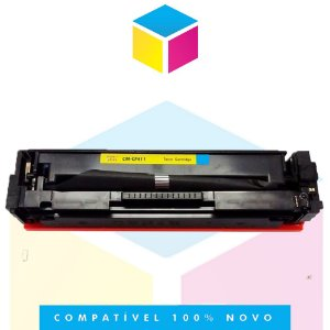 Toner Compatível HP CF 411 A Ciano | M 452 DW, M 452 DN, M 477 FDW, M 477 FNW, M 477 FDN | 2.3k