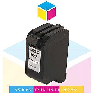 Cartucho de Tinta Compatível com HP 23 C 1823 D Colorido | Deskjet 840 Deskjet 710 C | 27ml