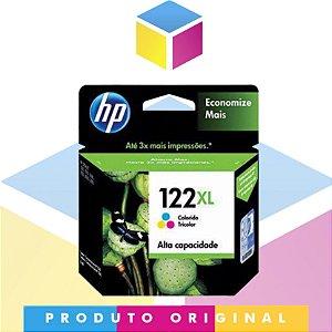 Cartucho De Tinta HP 122XL Colorido Original |122 CH564HB | 7,5ML