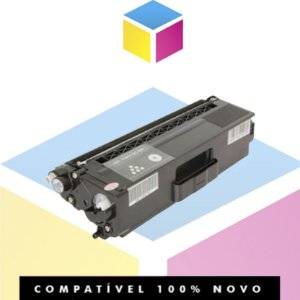 Toner Compatível para Brother TN 329 BK TN 329 Preto | HL L 8250 CDN HL L 8350 CDW HL L 8450 CDW | 6K