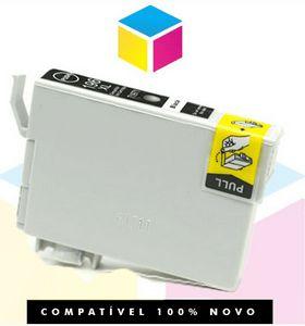 Cartucho de Tinta Epson Compatível 133 T 133 T 1334 Preto | T 25 TX 125 TX 420 W TX 123 TX 320 F | 10,5ml