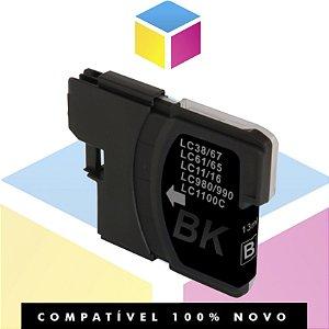Cartucho de Tinta Brother LC-61BK LC-61 Preto Compatível | MFC-250C DCP-6690CW MFC-5490CN | 16ML