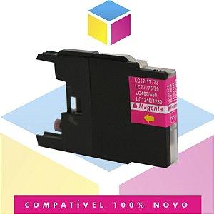 Cartucho de Tinta Brother LC-75 LC-79 Magenta Compatível | MFC-J6910DW MFC-J430W MFC-J6710DW | 13ml