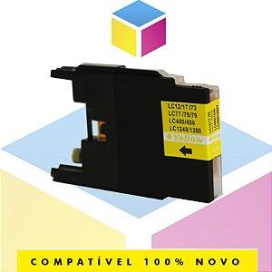 Cartucho de Tinta Brother LC-75Y LC-79Y Amarelo Yellow Compatível | MFC-J6910DW MFC-J430W MFC-J6710DW | 13ml