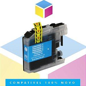 Cartucho de Tinta Brother LC-505C LC505 Ciano Compatível | MFC-J200 DCP-J105 DCP-J100 | 11ml