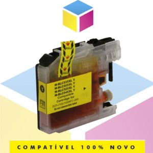 Cartucho de Tinta Brother LC-505Y LC505 Amarelo Yellow Compatível | MFC-J200 DCP-J100 DCP-J105 | 11ml