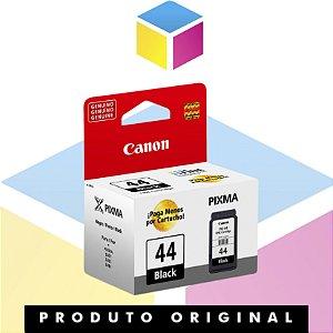 Cartucho de Tinta Canon PG 44 PG44 Preto | Original 5,6ml