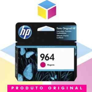 Cartucho de Tinta HP 964 Magenta | 9010 9020 3JA51AL | Original 11,5ml