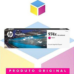 Cartucho de Tinta HP 974X L0S02AB Magenta Original | 452DN 452DW 477DN 477DW 552DW 577DW 577z | 82ml