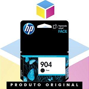 Cartucho de Tinta HP 904 Preto | Officejet Pro 6970 T6M00AB T6M00AL | Original 8ml