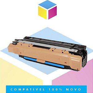 Toner Compatível com HP CE251A CE401A Ciano | CP3525 CM3530 CP3525DN CP3525N CP3525 CM3530FS | 6k