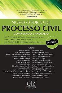 O NOVO CÓDIGO DE PROCESSO CIVIL COMPARADO E ANOTADO