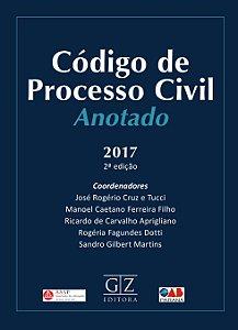 CÓDIGO DE PROCESSO CIVIL ANOTADO – 2ª edição