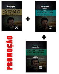 O NOVO PROCESSO CIVIL BRASILEIRO - VOLS I, II E III