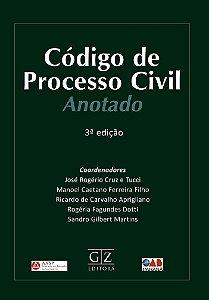 CÓDIGO DE PROCESSO CIVIL ANOTADO – 3ª edição